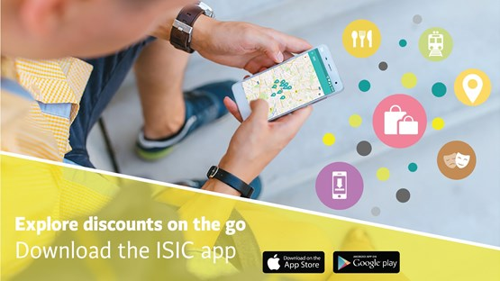 ISIC Benefits app