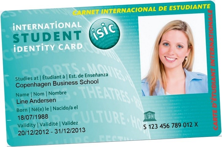 ISIC student-ID