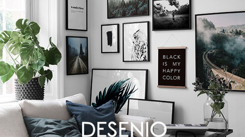 Decorate your home with posters from Desenio