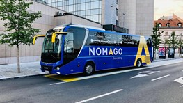 Student discount on bus tickets at Nomago