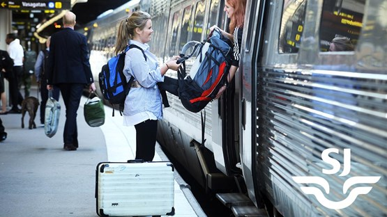 Student discount on train travel with SJ