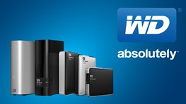 20% off products including free shipping at WD Western Digital