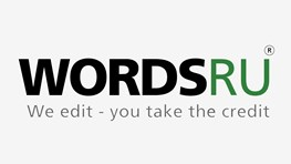20% off all editing jobs at WordsRu