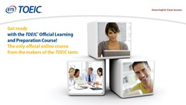 TOEIC® Official Learning and Preparation Course - High Beginner to Advanced