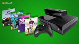 Student discount - XBOX One + Kinect and 4 FREE Games